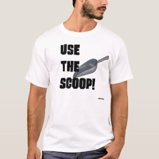 Camiseta Use a colher!
