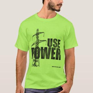 Camiseta USE o verde do PODER