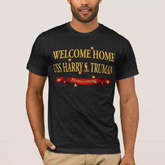 Camiseta USS Home bem-vindo Harry S. Truman