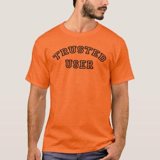 Camiseta Usuário confiado