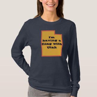 Camiseta Utá-- Eu estou tendo um fling com Utá