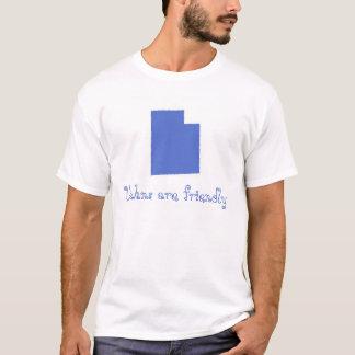 Camiseta Utahns é amigável