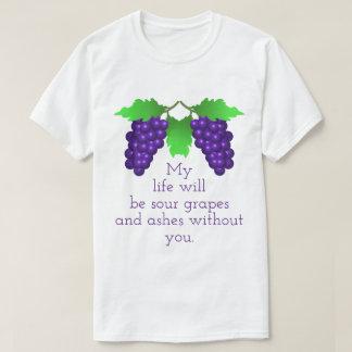 Camiseta Uvas ácidas