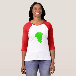 Camiseta Uvas saudáveis esclarecido