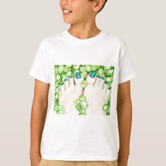 Camiseta Uvas verdes e Pedicure