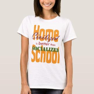 Camiseta V civilizado socializado