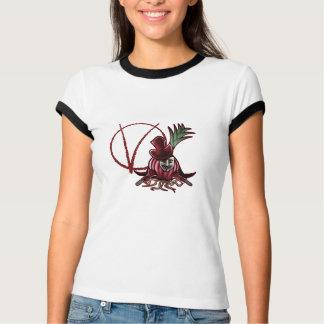 Camiseta V para o vegetariano
