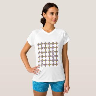 Camiseta V-Pescoço Dobro-Seco da boa vinda/campeão das