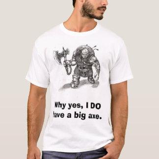 Camiseta Vá adiante, julgue-me por meu tamanho