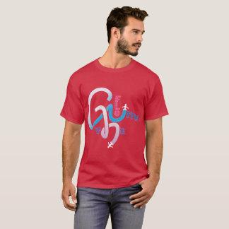 Camiseta Vá com o fluxo