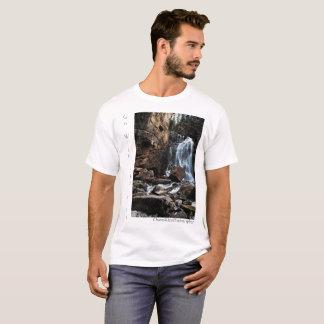 Camiseta Vá com o t-shirt do fluxo