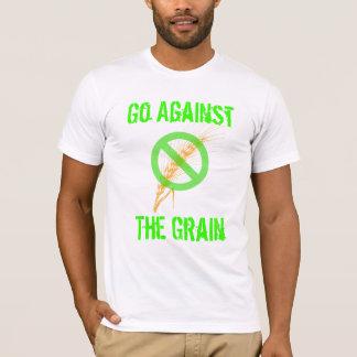 Camiseta Vá contra a grão - consciência celíaca