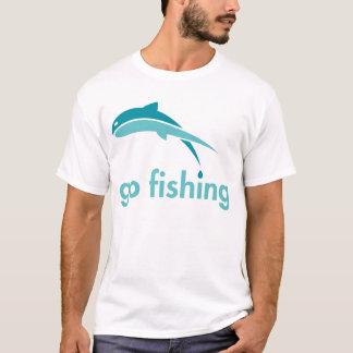 Camiseta Vá pescar o t-shirt