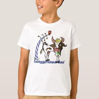 Camiseta Vaca bávara com trevo