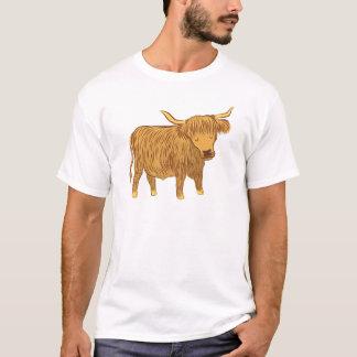 Camiseta vaca das montanhas (coo)