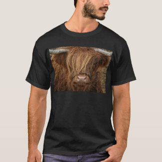 Camiseta Vaca escocesa das montanhas - Scotland