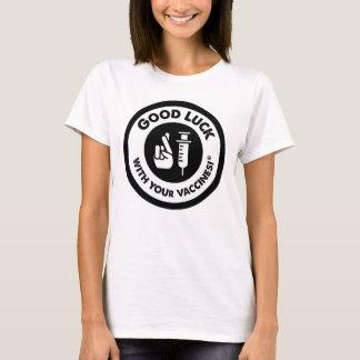 Camiseta Vacinas da boa sorte clássicas