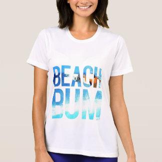 Camiseta vagabundo da praia