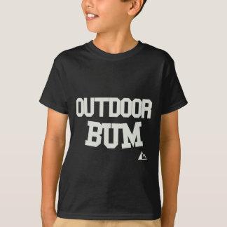 Camiseta Vagabundo exterior para o roupa escuro