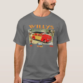 Camiseta Vagão arborizado de Willys
