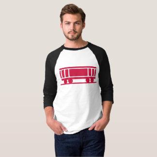 Camiseta Vagão coberto moderno das crianças do vagão