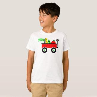 Camiseta Vagão da escola para o primeiro dia dos meninos de