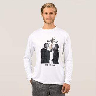 Camiseta Vagão longo & Bacall da luva