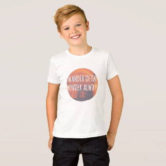 Camiseta Vagueia frequentemente, a maravilha sempre