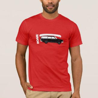 Camiseta VAGUEIE o vagão do Granola + T-shirt da canoa