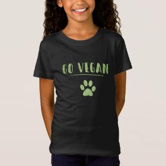 Camiseta Vai a tipografia animal do brilho do verde do