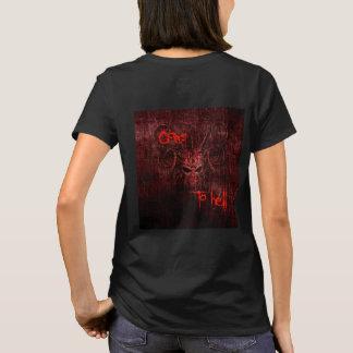 Camiseta Vai ao inferno