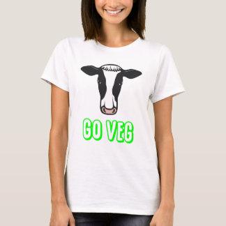 Camiseta Vai o logotipo do © de Veg