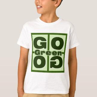 Camiseta Vai o quadrado verde