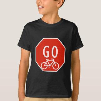 Camiseta Vai o sinal da bicicleta