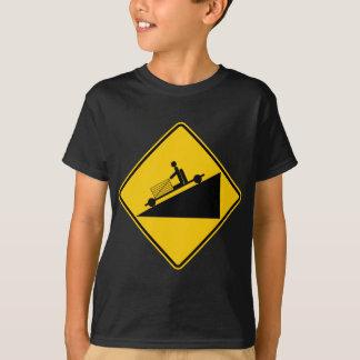 Camiseta Vai o sinal da estrada da zona do monte do carro
