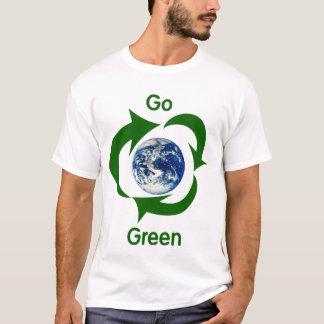 Camiseta Vai o t-shirt da terra verde