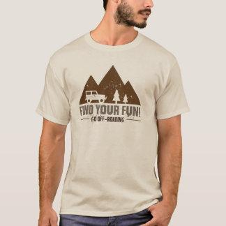 Camiseta Vai o t-shirt de Off-Roading
