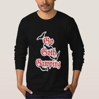 Camiseta VAI o t-shirt gótico do fim de semana do GÓTICO