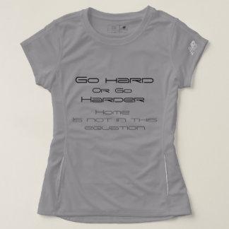 Camiseta Vai o t-shirt novo do equilíbrio de umas mulheres