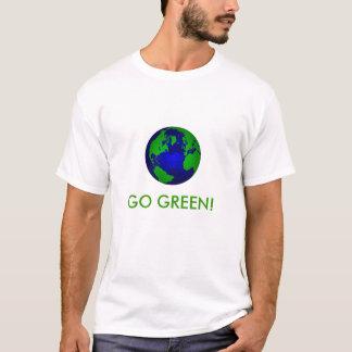 Camiseta Vai o t-shirt verde
