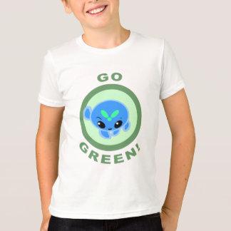 Camiseta Vai o t-shirt verde de Ziro!