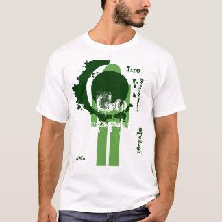 Camiseta Vai o t-shirt verde do ambiente