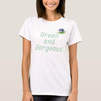Camiseta Vai o t-shirt verde e lindo