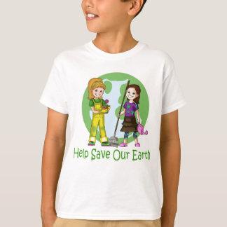 Camiseta Vai o t-shirt verde mindinho e do amendoim