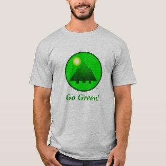 Camiseta Vai o t-shirt verde! Proteja o ambiente