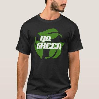 Camiseta Vai o T verde