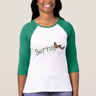 Camiseta Vai o verde com Bernie; T-shirt 2016 das máquinas
