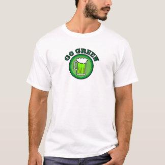 Camiseta Vai o verde para o dia de St Patrick!