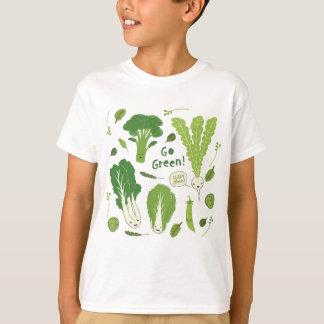 Camiseta Vai o verde! (Verde frondoso!) amigos felizes do