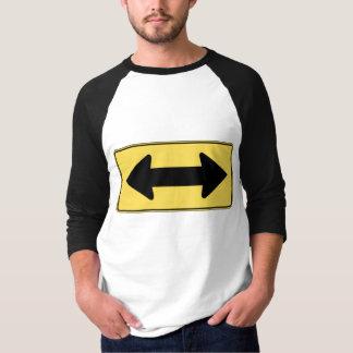 Camiseta Vai qualquer um/ambas as maneiras